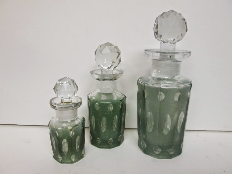 Restoration Hardware Bottle Trio