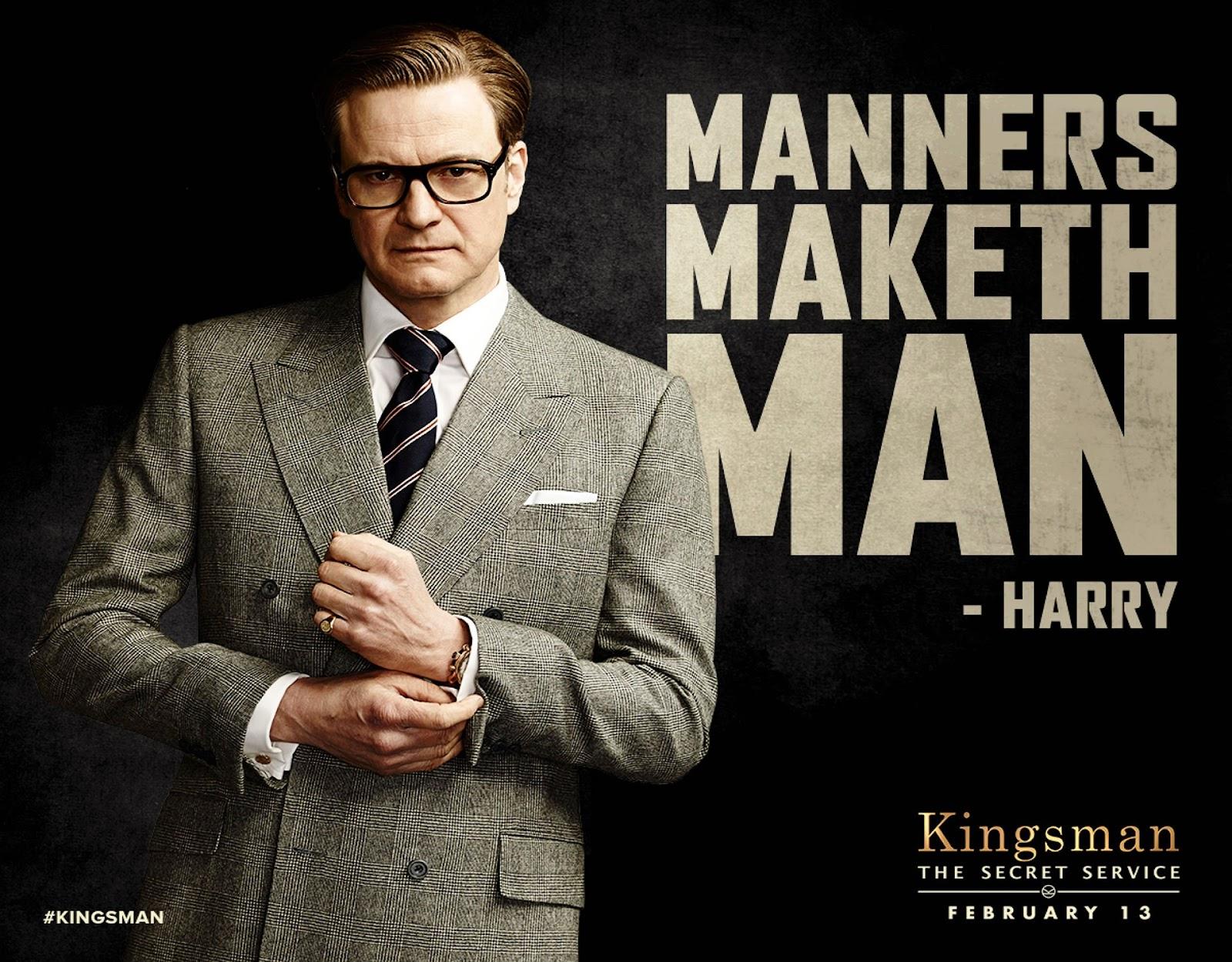Kingsman Harry Hart