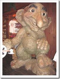 Florida vacation Epcot troll in Norway