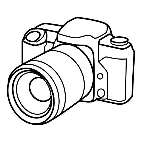 Coloear dibujos de camaras fotograficas - Camaras de fotos infantiles ...