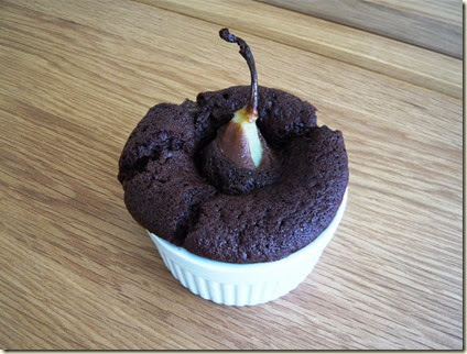pear and chocolate pudding4