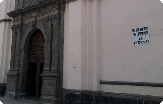 fronton iglesia