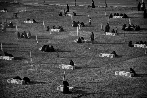 Fatemeh 02 Unidentified bodies of martyrs brought back to Iran