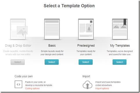 Campaign Builder   HTML   MailChimp