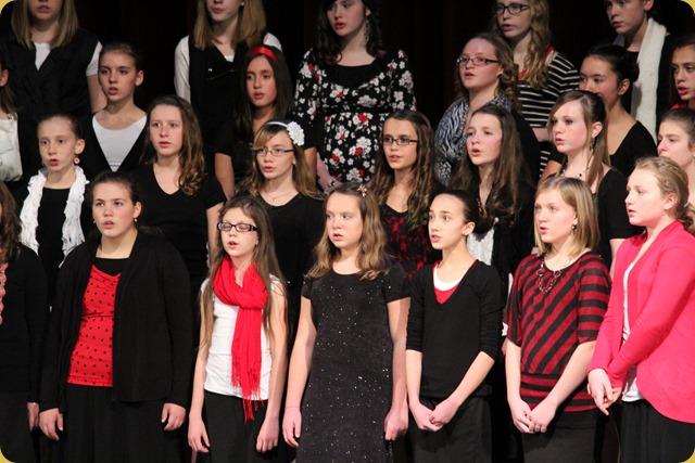 Katie's Christmas Concert 001