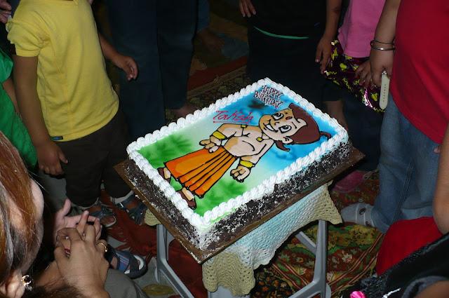 Chota bheem theme cake