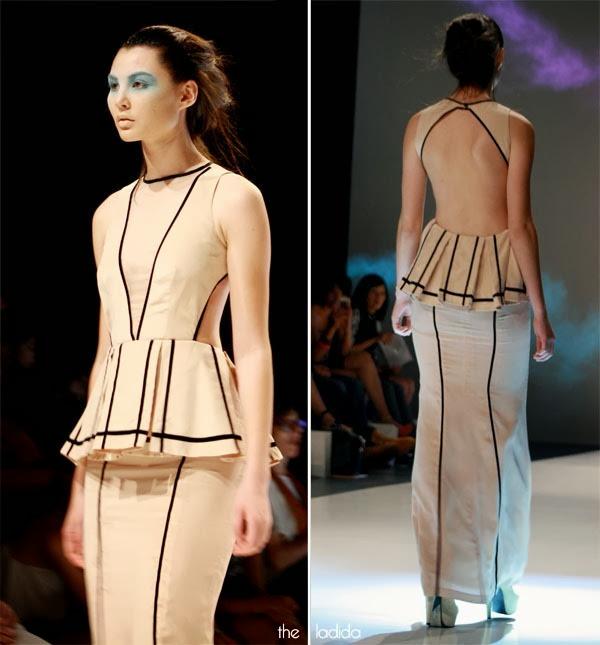 Raffles Graduate Fashion Show 2013 - Jingjie Zhang