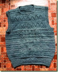 BlueGreen 80s Vest front