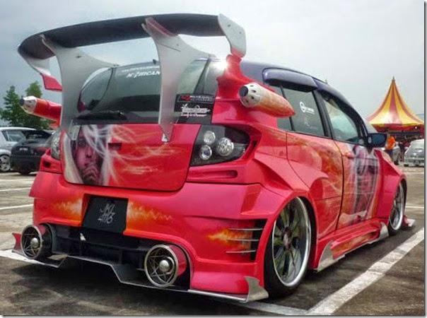 Hyundai getz widebody autoshow car (3)