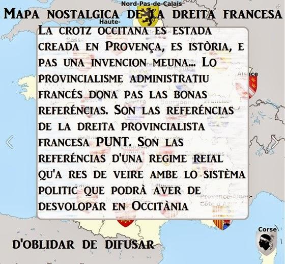 Mapa de la dreita nostalgica francesa -