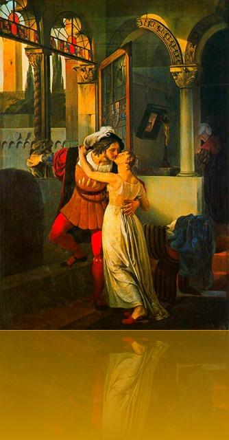 Francesco_Hayez_053 Romeu e Julieta