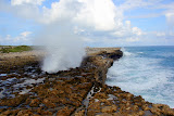 Powerful Ocean Waves At Devil's Bridge (Shot 11 of 14) - St. George's, Antigua