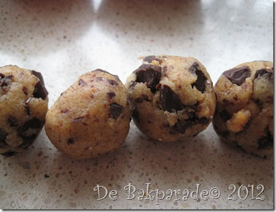 Pindakaas Chocolade Koekjesdeeg Cupcakes
