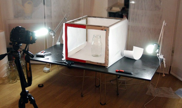 Off-Topic: How to Make a Cheap Lightbox and a Lighting System for it at Home