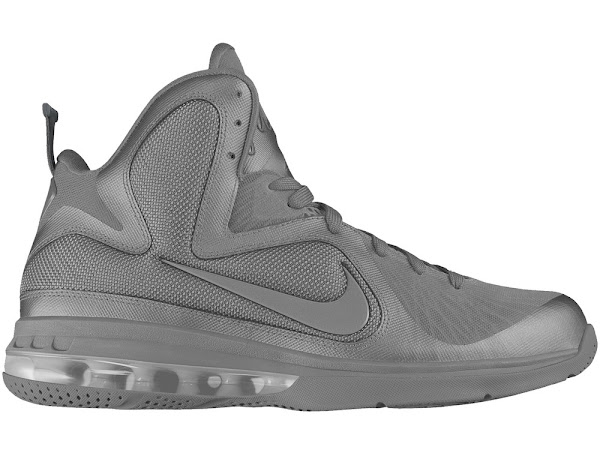 Nike LeBron 9 iD Templates