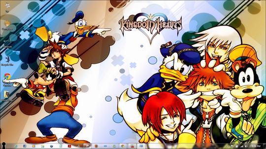 Download Free Kingdom Hearts Windows 7 Theme