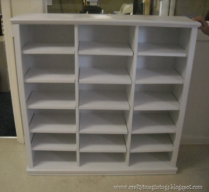 Attrayant Crafty Imaginings U0026 Silly Things: DIY Storage Cubbies With Adjustable  Shelves
