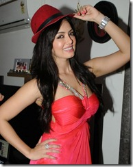 Actress Sana Khan Hot Photos @ Birthday Celebrations 2013