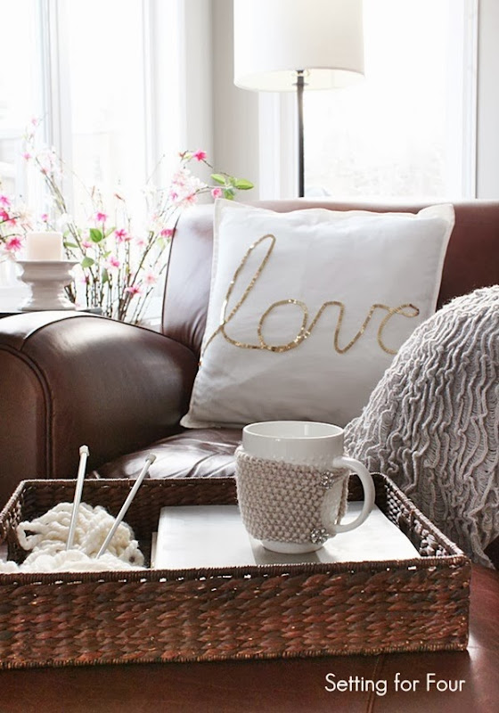 Home Decor - Living Room Vignette