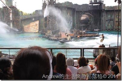 日本環球影城-水世界表演