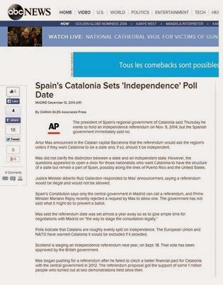 referèndum en Catalonha ABC News
