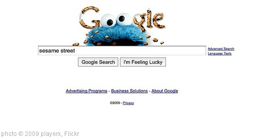'#Google Cookie Monster - Screen shot 2009-11-05 at 4.56.12 PM' photo (c) 2009, playerx - license: http://creativecommons.org/licenses/by/2.0/