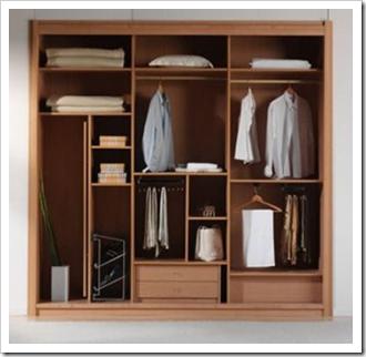 lemari pakaian minimalis model baru