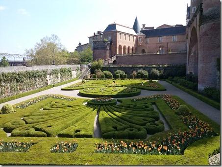 les jardins du Palais de la Berbie