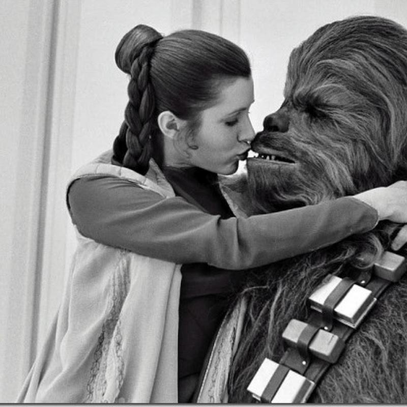 37 imagens dos bastidores de Star  Wars