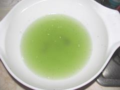 B.B pickles salt water