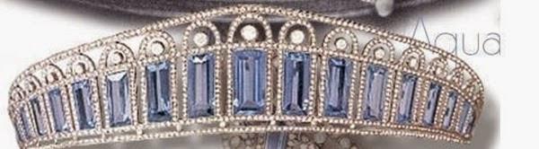 Tiara de aguamarinas que perteneció a la Zarina Alexandra Feodorovna[IMG]