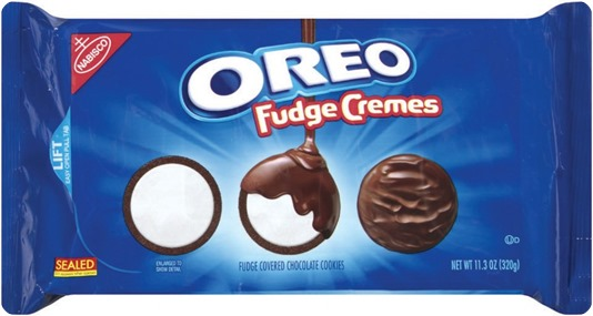 fudge oreos