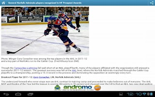 Screenshot of Hockeyfuturizer