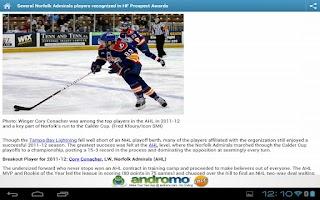 Screenshot of Hockeyfuturizer