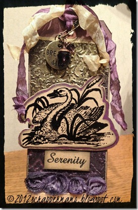 serenity shimmer a with border