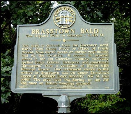 06 - Brasstown Bald Plaque
