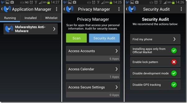 Malwarebytes Anti-Malware app Android Sicurezza