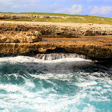 Welcome To Devil's Bridge:  A Thin Rock Outcropping Worn Away By Massive Ocean Waves - St. George's, Antigua