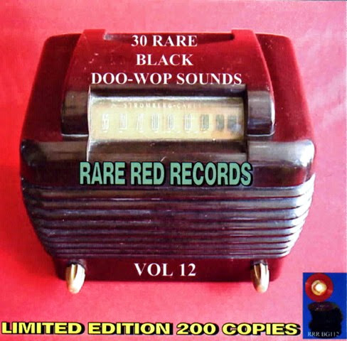 Rare Black Doo-Wop Sounds Vol. 12 - 31 Front