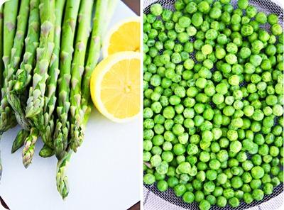 Asaparagus and Peas