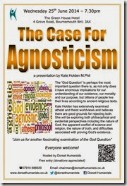 The Case for Agnosticism - 25 June 2014