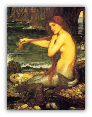 Waterhouse, 'Sirena', 1901