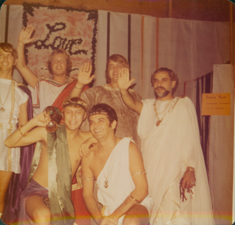 Dignity Halloween costume party in Santa Monica. October 1972.