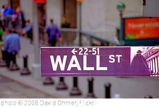 'New York - 'GREED STREET or Wall Street...U decide?' Colorful tags below' photo (c) 2008, David Ohmer - license: http://creativecommons.org/licenses/by/2.0/