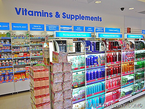 Watsons Marina Bay Sands Vitamins