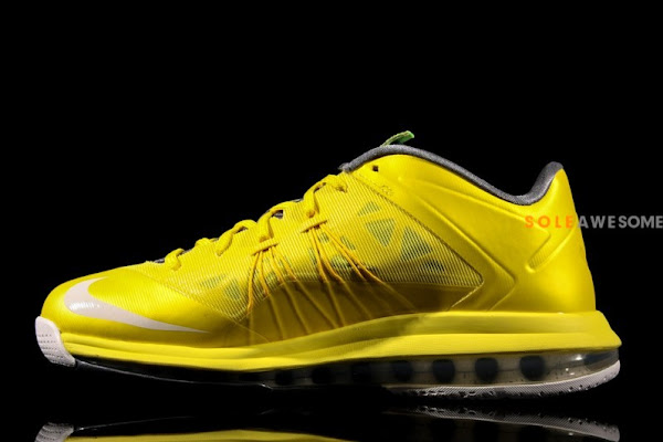 New Photos  Nike LeBron X Low Yellow amp Grey 579765700