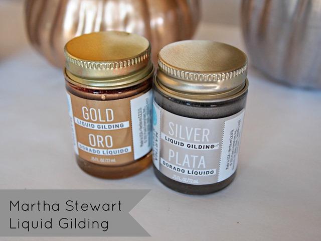Martha Stewart Liquid Gilding