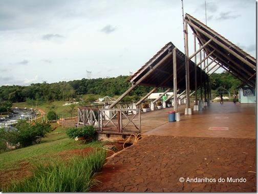 Itaipu Veiculo Eletrico Estrutura do Canal da Piracema