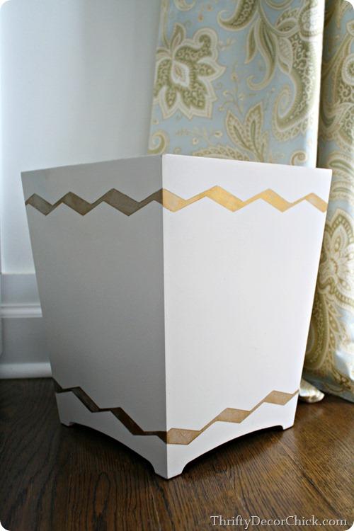 chevron painters tape design