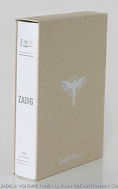 TOME I La Pureté  by Zadig and Voltaire
